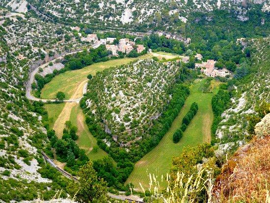 Saint-Maurice-Navacelles, França: cirque de navacelles