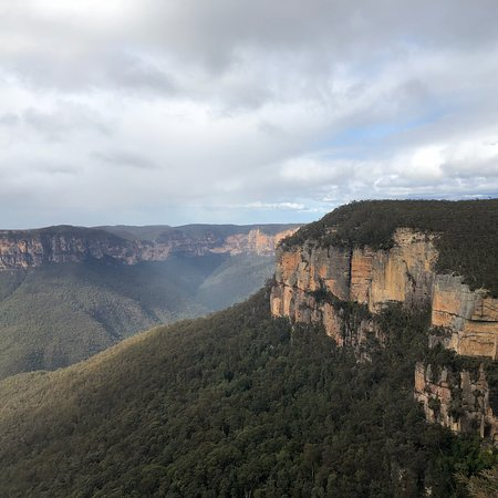 Govetts Leap: Beautiful view - a must see if you are visiting the blue mountains. A short drive from where we 