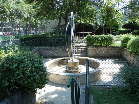 Fontaine du Square Cadiou