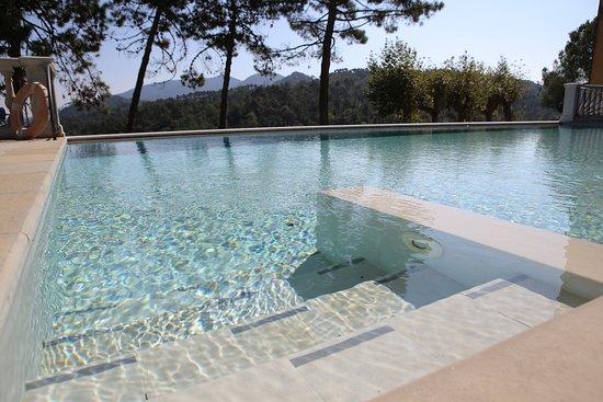 Balbano, Italië: Infinity Pool