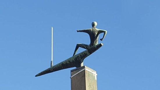 """Skulptur """"Der Segler"""""""