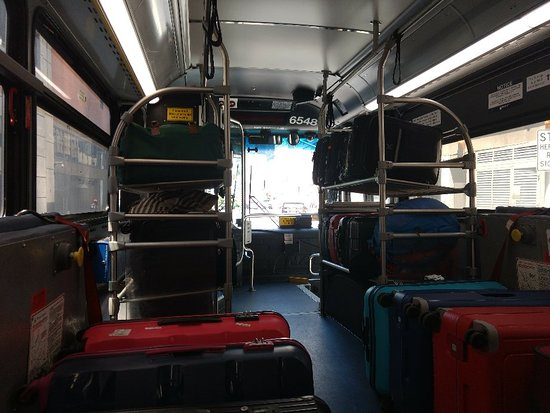 Beware The 'Express' Bus! - Review of Newark Airport Express