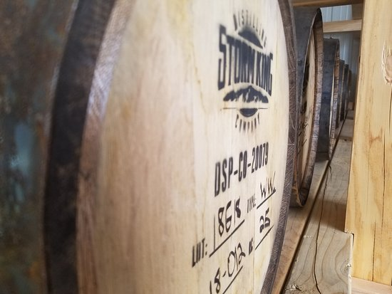 Storm King Distilling Co.: So much whiskey!