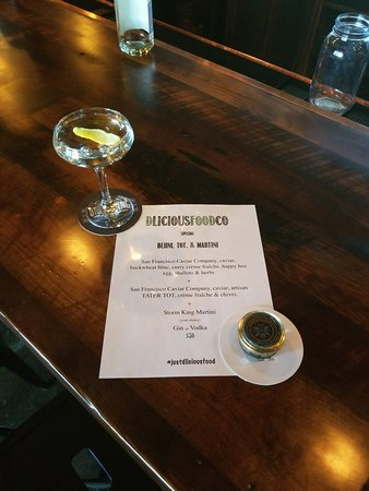 Storm King Distilling Co.: Oh caviar night, how we miss you!