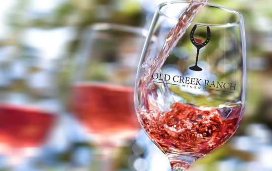 Old Creek Ranch Winery : Rosé all day!