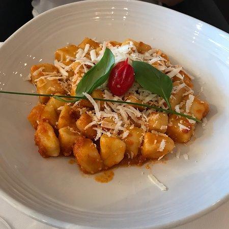 Gnocchi and risotto