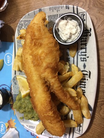 Legendary cod and chips
