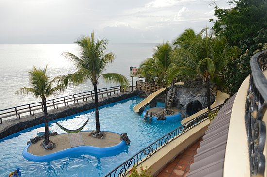 Caribe Tesoro: View from the private balcony of the Champagne Room