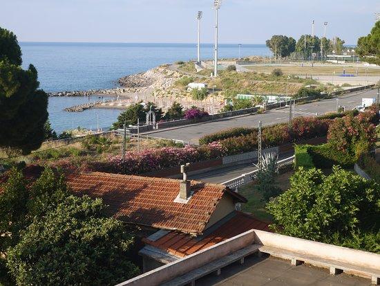 Hotel Napoleon San Remo: Вид из номера