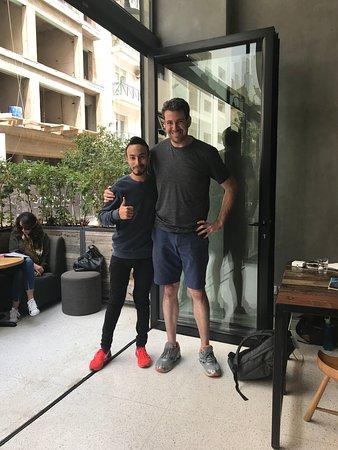 Bondi Coffee Kitchen: Abraham!!! Staff is so friendly and helpful!!!