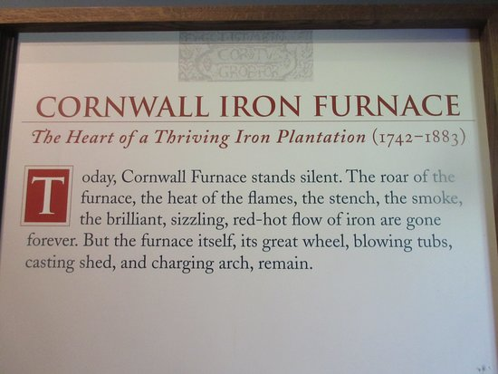 Cornwall, Pensilvania: Brief explaination