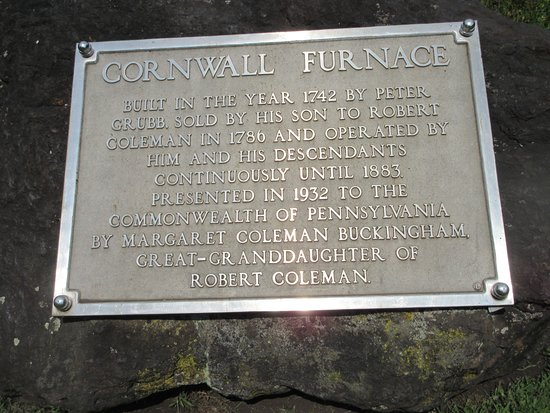 Cornwall, Pensilvania: Explanation of the facility