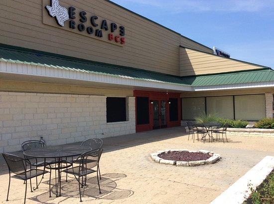 Escape Room BCS new facade and sign