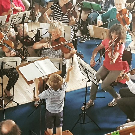 Orchestra at Ashburton Arts Centre, Devon