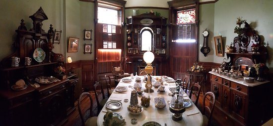 Craigdarroch Castle: One of the dining areas