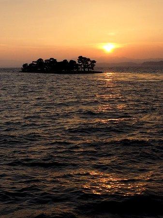 日没、嫁ケ島、松江