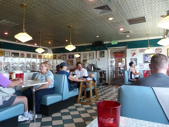 Pseudo Jersey Diner Style Decor Picture Of Moonlight Diner