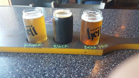 Streetcar Kitchen and Pub: my beer flight