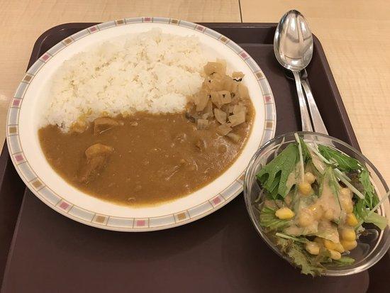 浅草ヨシカミTOKYO CHEF'S KITCHEN 内, ポークカレーとサラダ