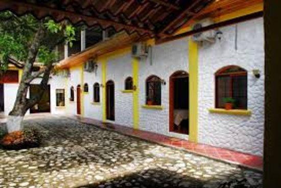 Danli, Honduras: Patio interior del hotel.