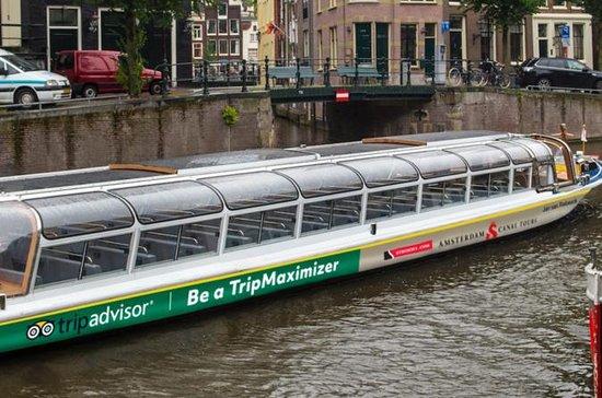Sightseeingcruise på Amsterdams...
