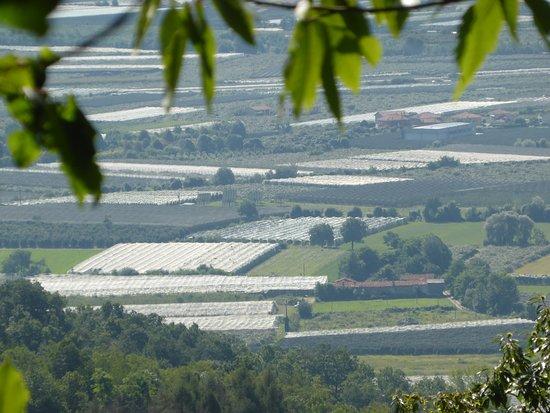 Piasco, Italy: Panorama dall'alto