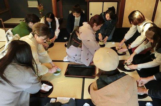 Cérémonie du thé dans un chef d'oeuvre architectural au musée Shibamata & Tora-san : Tea Ceremony in a architectural masterpiece in Shibamata & Tora-san Museum