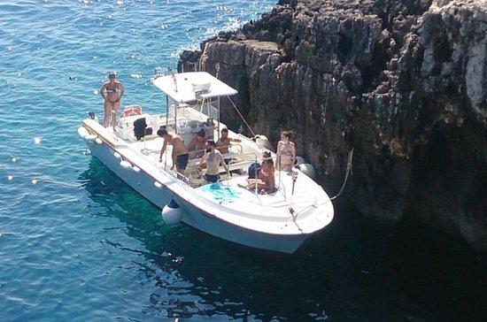 Blauwe grot tour met speedboot vanuit ...