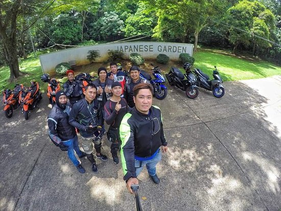 Lumban, Philippines: Beginning of friendship  and brotherhood Aerox Club Philippines Team Quezon 1st Ride