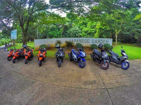 Lumban, Philippinen: Beginning of friendship  and brotherhood Aerox Club Philippines Team Quezon 1st Ride