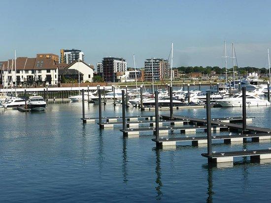 Banana Wharf: great outlook