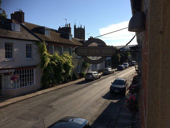 Cerne Abbas, UK: Cerne high street