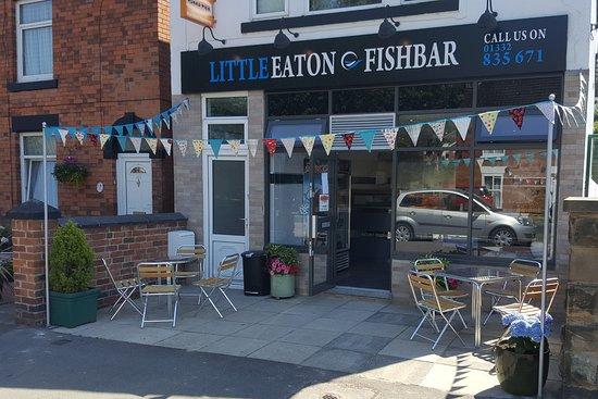 Little Eaton, UK: Our Shop front