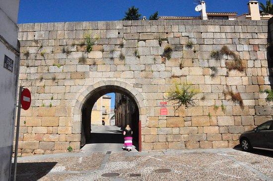 Coria, Spain: Street view.