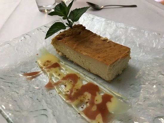 Molino de Palacios: Tarta de queso