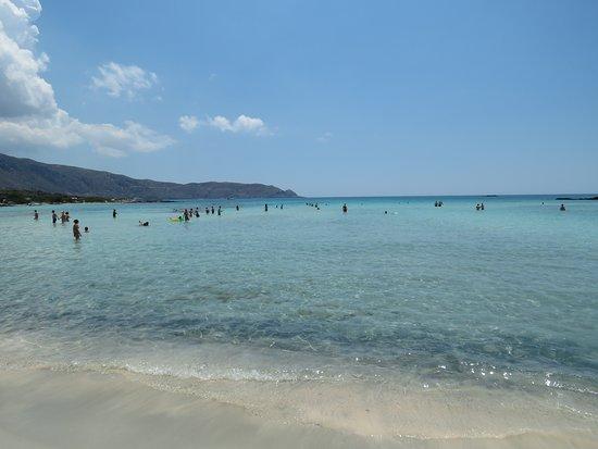 Playa de Elafonisi: Пляж