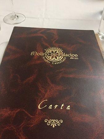 Molino de Palacios: Carta