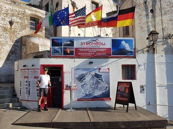 Stromboli, Italie : Alla partenza...