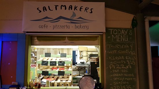 Orange Grove, Australia: Saltmakers located at Terminal Bldg
