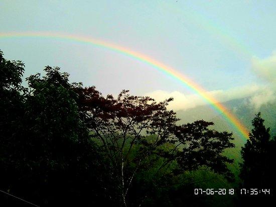 Nimachen, Indie: Rainbow formation