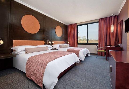 Ndola, Zambia: Guest room