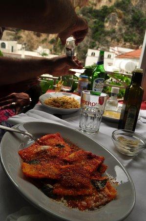 Praiano, Italia: Almoço La Conchiglia