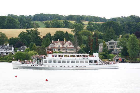 Windermere Lake Cruises: From our boat to theirs!
