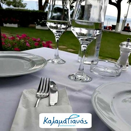 Kalamatianos Seafood Restaurant : A beautiful day by the sea!