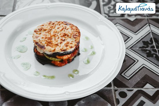 Stavros, Greece: We recommend one of the most famous greek recipes in its sea version, moussaka made of shrimps!
