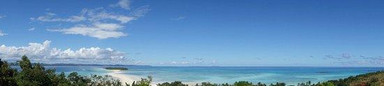 Nosy Iranja, Madagascar: panorama sommet