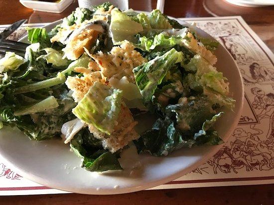 Shirley, MA: Caesar salad