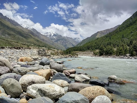 Baspa river in Chitkul valley