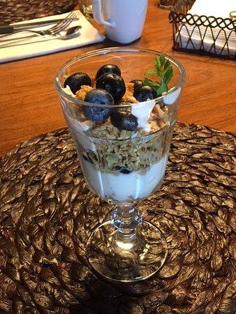 """Confluence, Pensilvanya: healthy breakfast """"starter"""""""