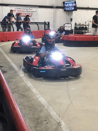 Go Karts Cleveland >> Exiting The Padock Picture Of Boss Pro Karting Cleveland